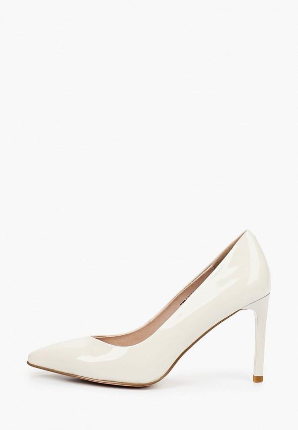 женские туфли-лодочки stivalli, белые