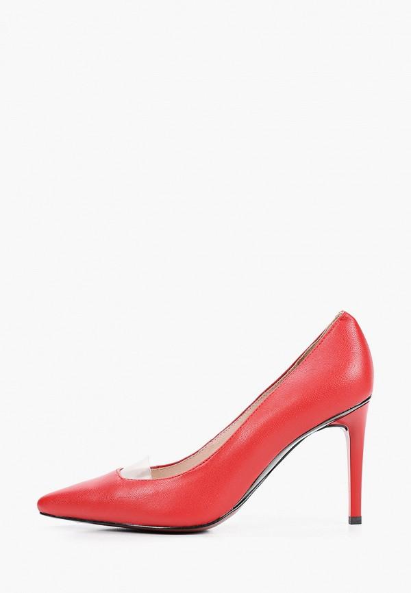 женские туфли-лодочки stivalli, красные
