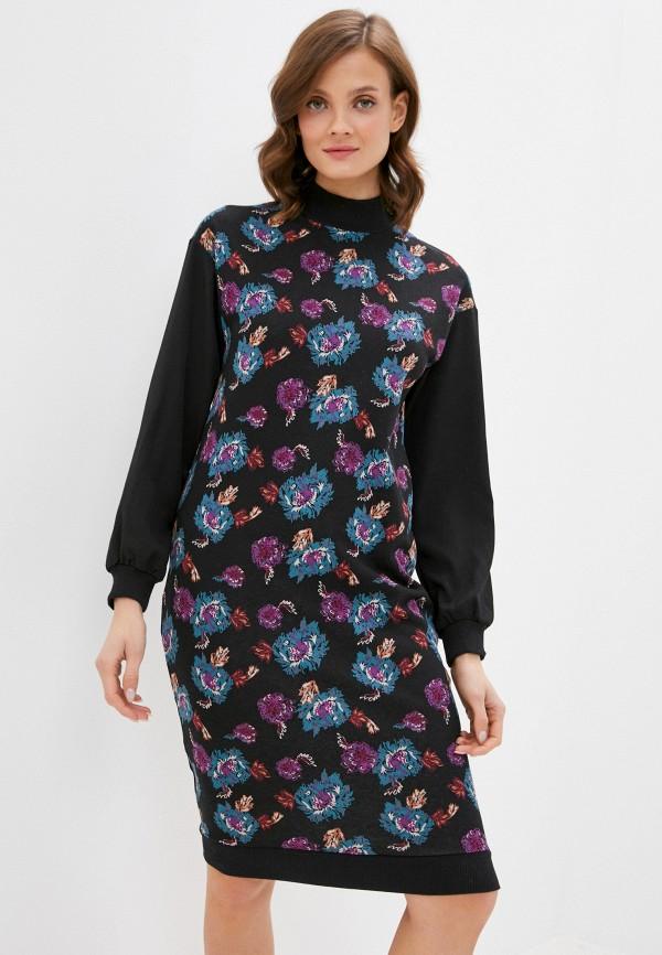 женское повседневные платье mark formelle, черное