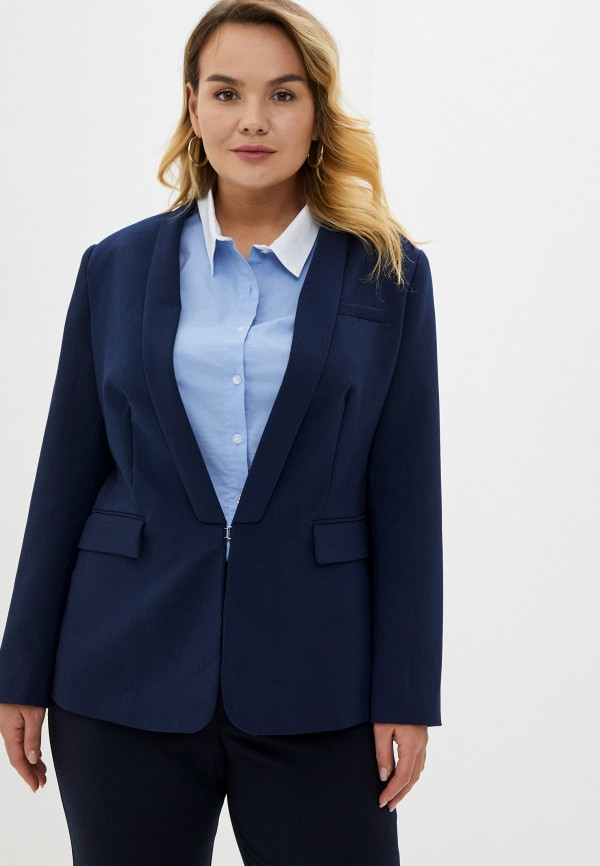 женский пиджак incity, синий