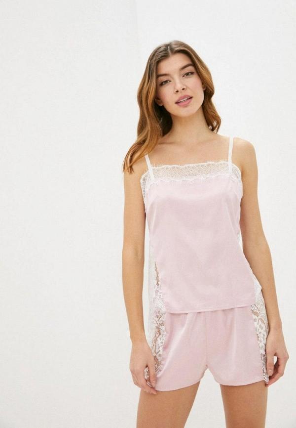 женская пижама gepur, розовая