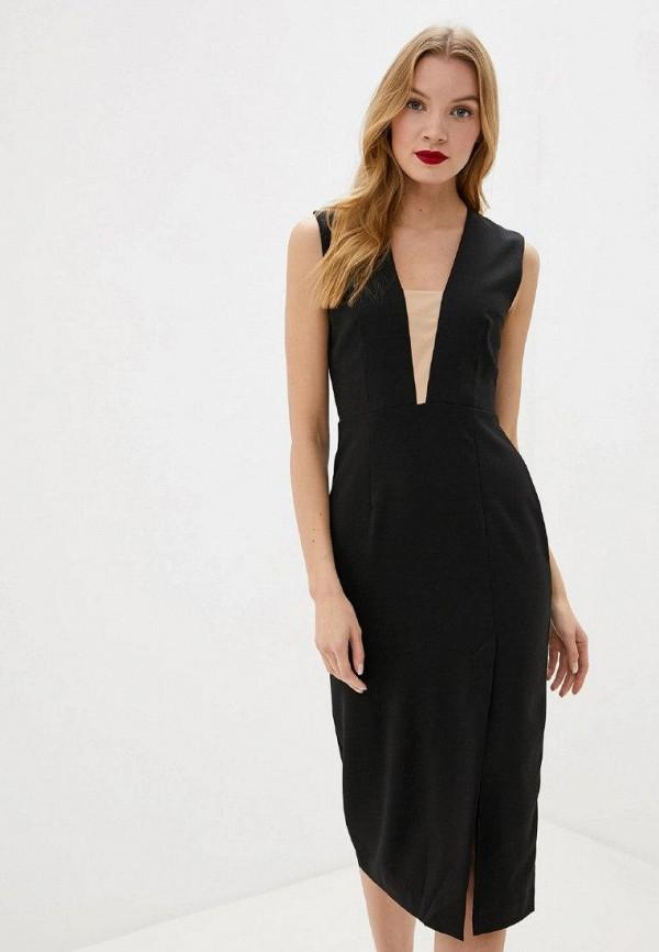 женское повседневные платье gepur, черное
