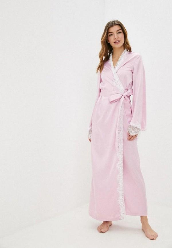женский халат gepur, розовый