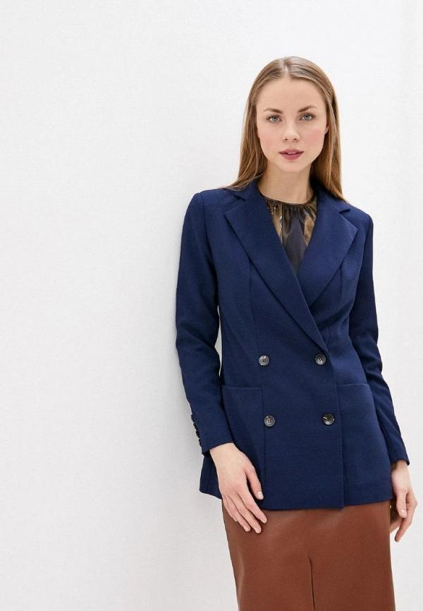 женский пиджак gepur, синий