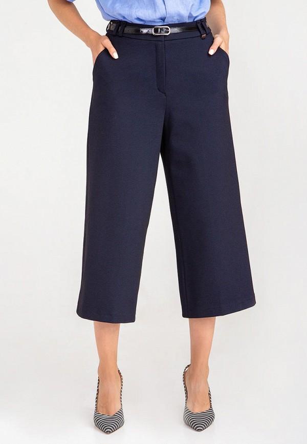 женские брюки das, синие