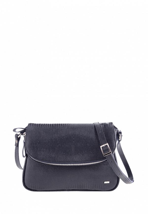 женская сумка через плечо esse, синяя