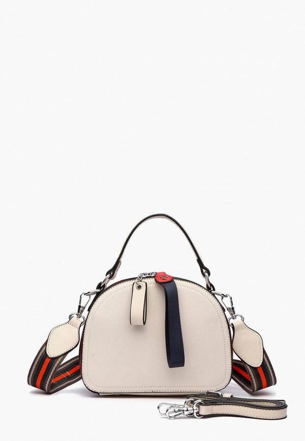 женская сумка через плечо dda, белая