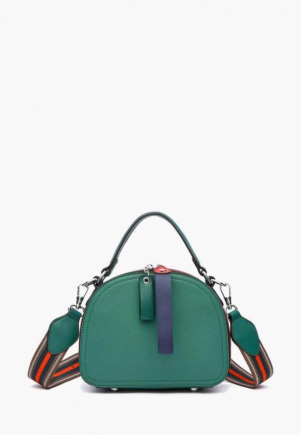 женская сумка через плечо dda, зеленая