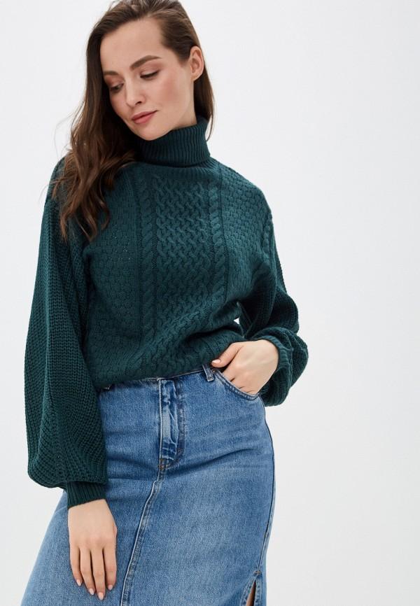 женский свитер incity, зеленый