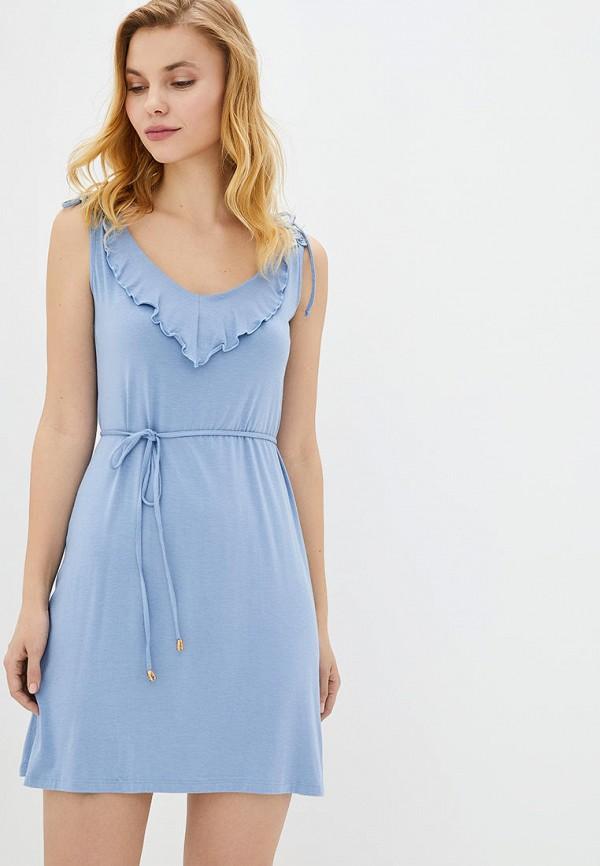 женские сорочка ночная german volf, голубые