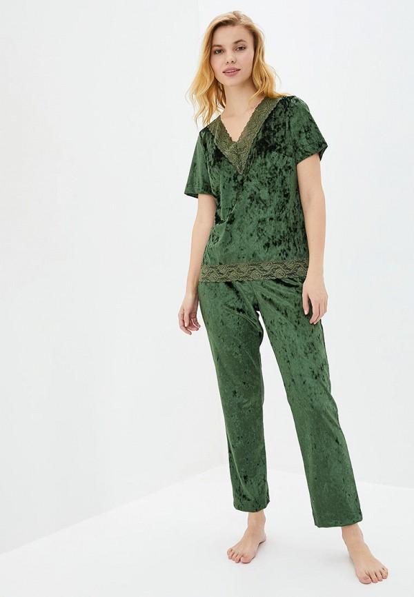 женская пижама german volf, зеленая