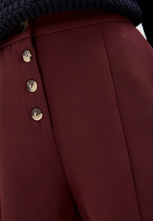 Фото 4 - Женские шорты Befree бордового цвета