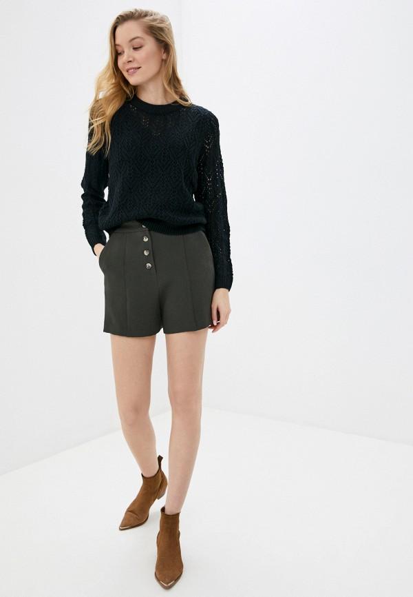 Фото 2 - Женские шорты Befree цвета хаки