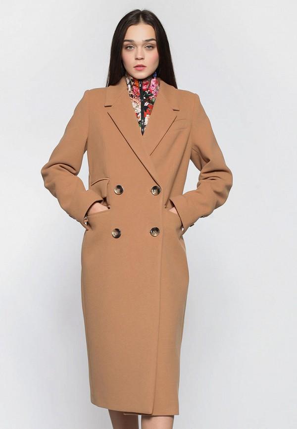 женское пальто natalia bas, бежевое
