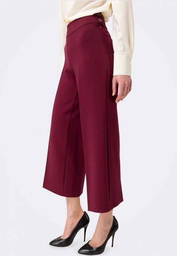 женские брюки клеш cat orange, бордовые