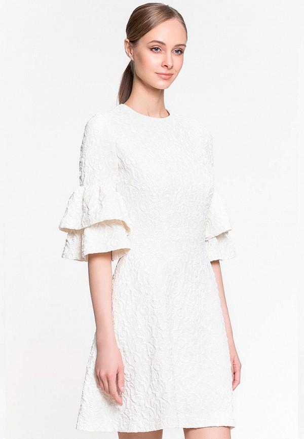 женское повседневные платье genevie, белое