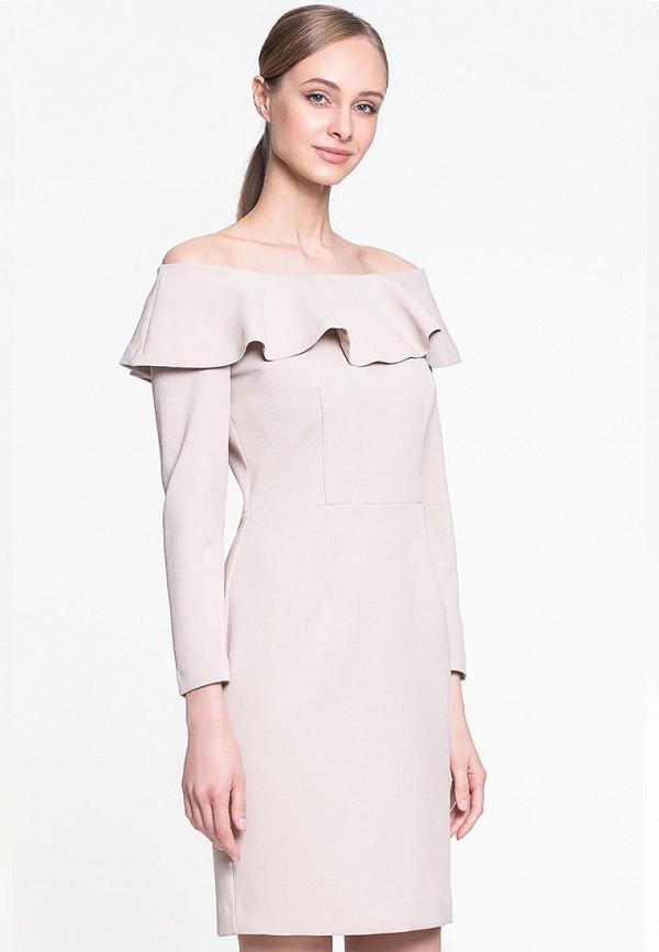 женское повседневные платье genevie, розовое