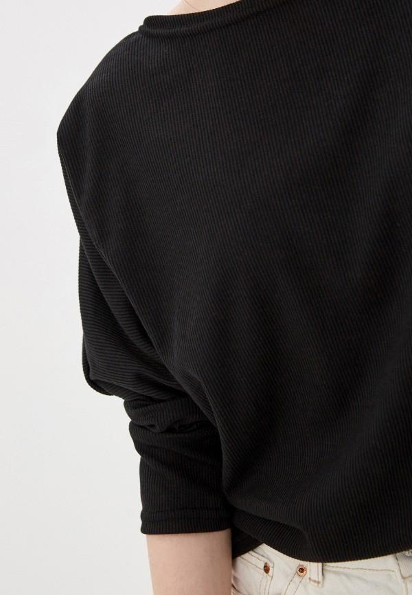 Фото 4 - Лонгслив Marissimo черного цвета