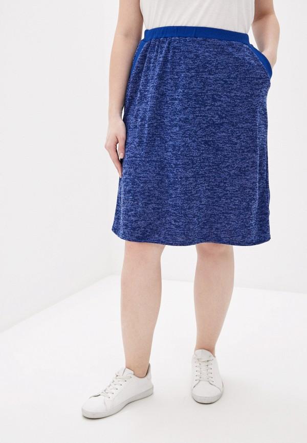 женская узкие юбка prewoman, синяя
