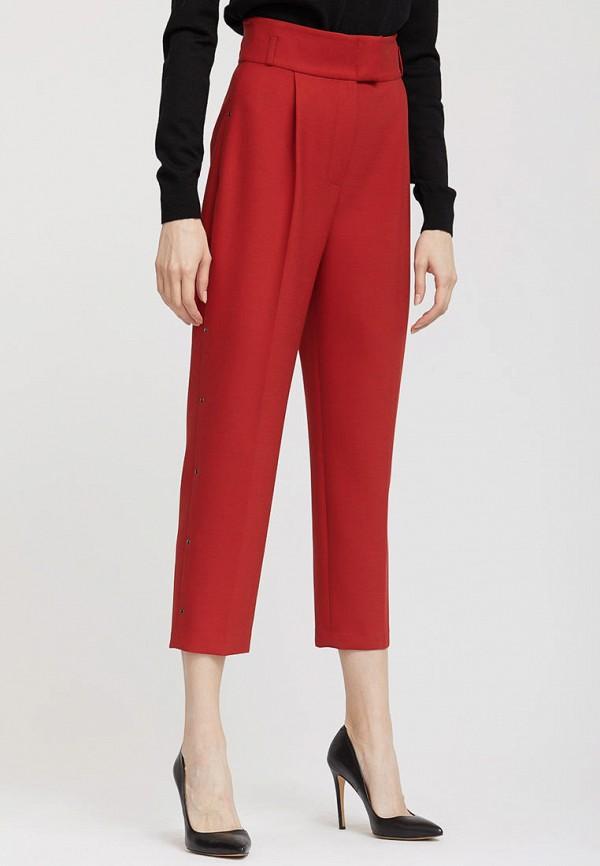 женские повседневные брюки charuel, красные