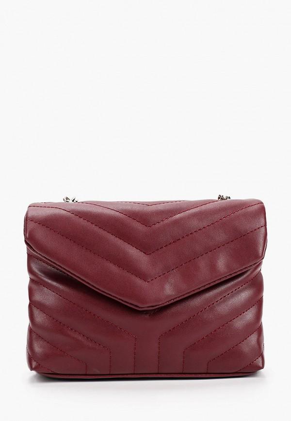 женская сумка через плечо dda, бордовая