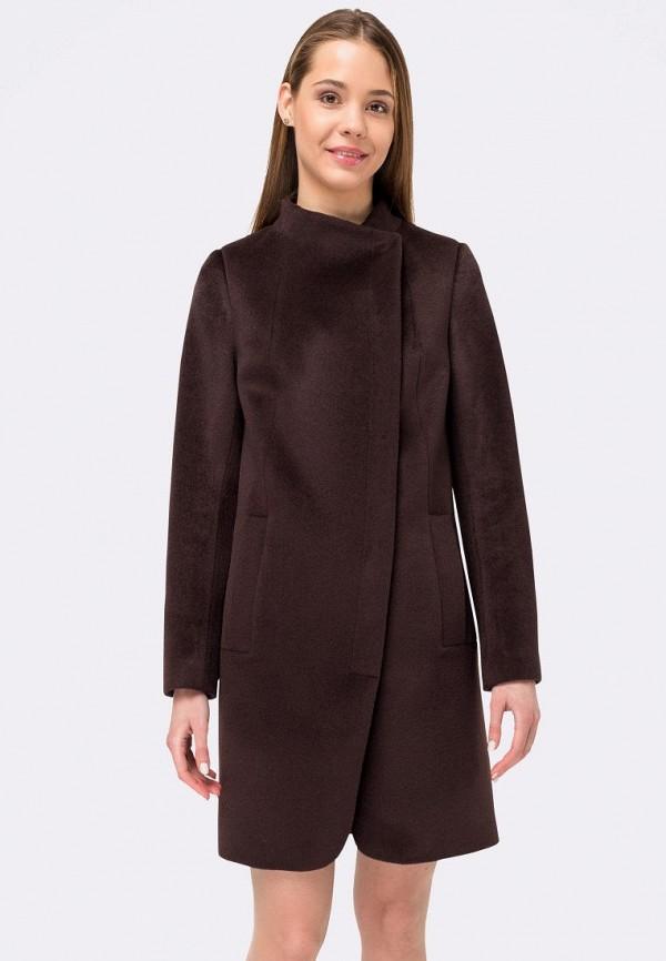 женское пальто cat orange, коричневое