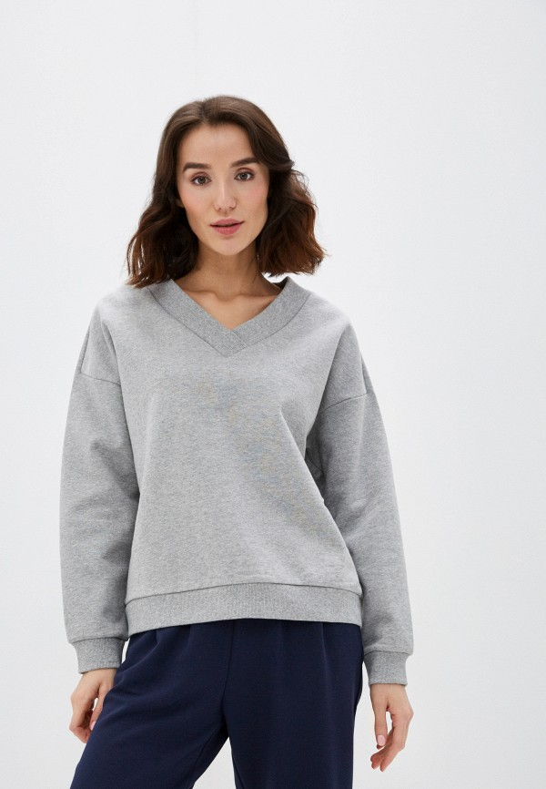 женский свитшот sela, серый