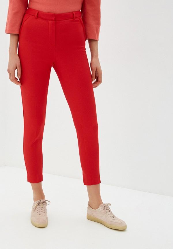 женские классические брюки profito avantage, красные