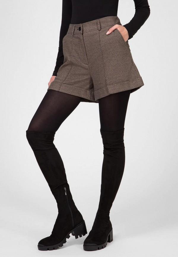 женские повседневные шорты kano, коричневые