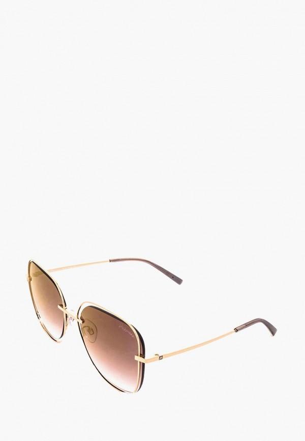 женские солнцезащитные очки ana hickmann, золотые