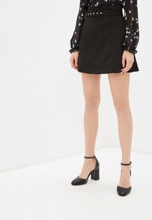 Фото - Женскую юбку Befree черного цвета