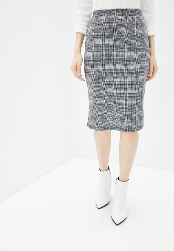 Фото - Женскую юбку Befree серого цвета