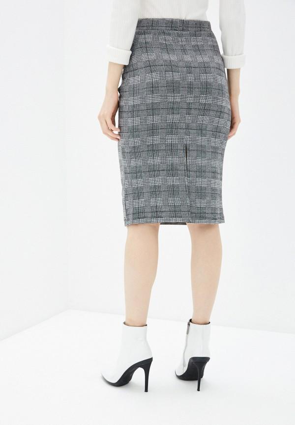 Фото 3 - Женскую юбку Befree серого цвета