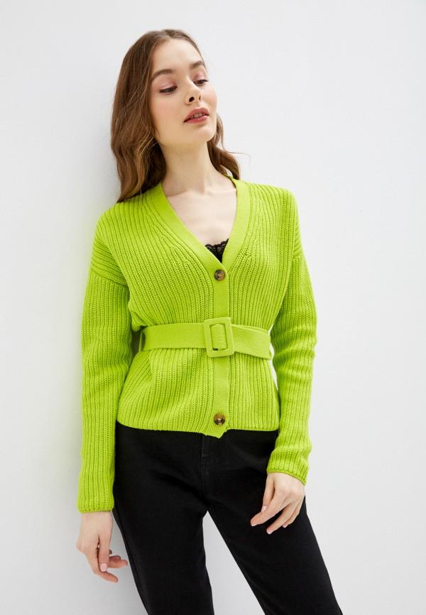 Фото - Женский кардиган Befree зеленого цвета