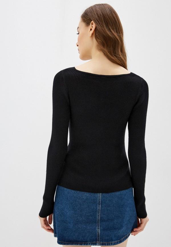 Фото 3 - Женский пуловер Befree черного цвета