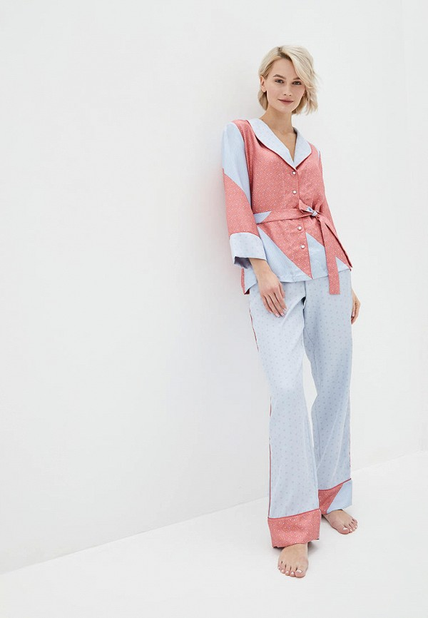 женская пижама reine rouge, разноцветная