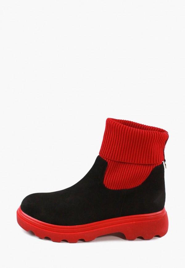 женские ботинки it-girl, красные