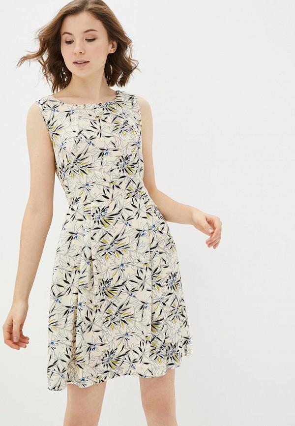 женское повседневные платье jhiva, бежевое