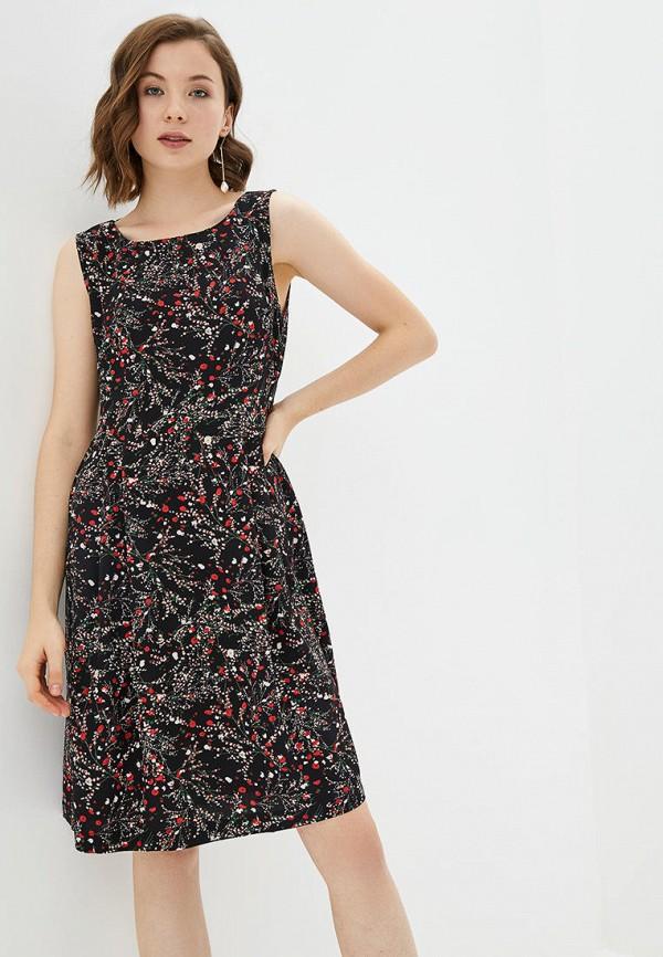 женское повседневные платье jhiva, черное