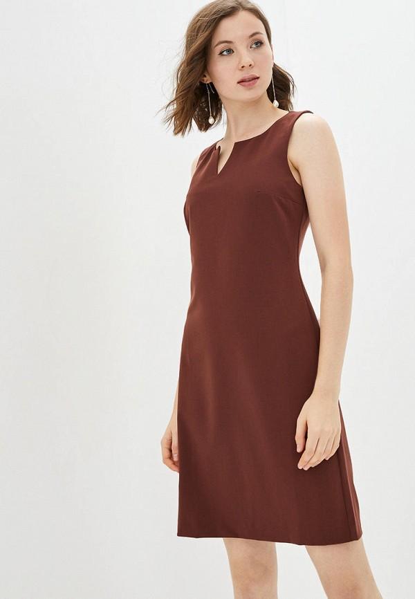 женское повседневные платье jhiva, коричневое