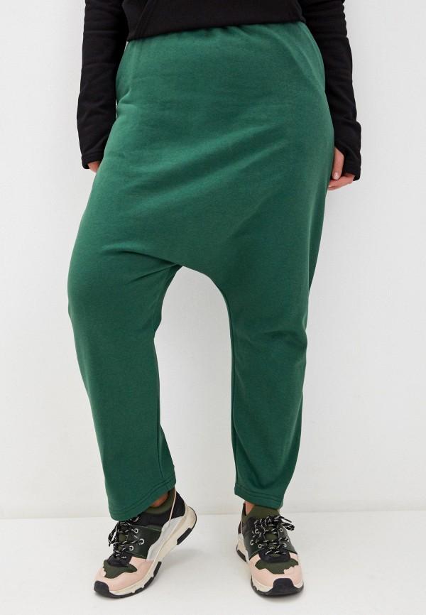 женские брюки джоггеры lessismore, зеленые