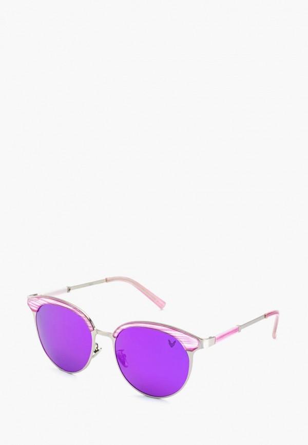 женские солнцезащитные очки alberto casiano, фиолетовые