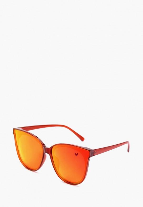 женские солнцезащитные очки alberto casiano, оранжевые