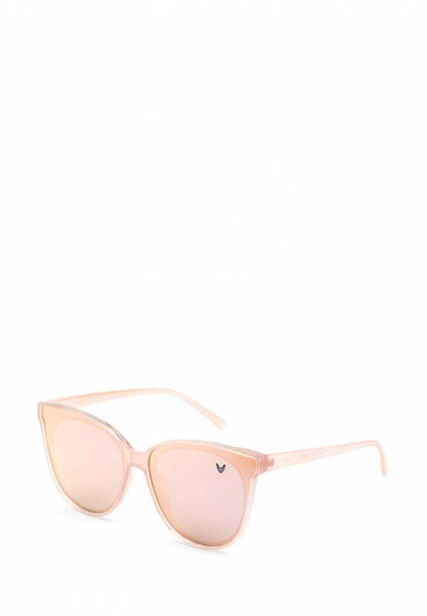 женские солнцезащитные очки alberto casiano, розовые