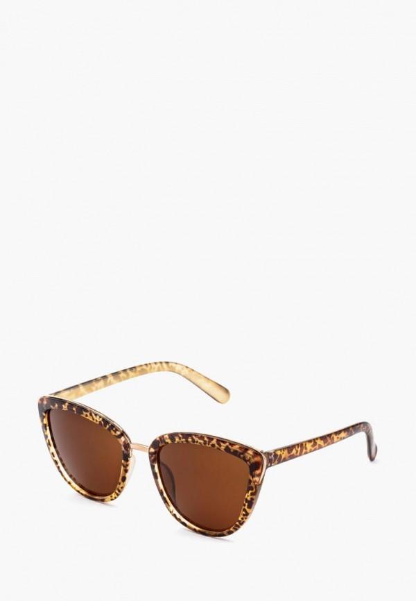 женские солнцезащитные очки alberto casiano, коричневые