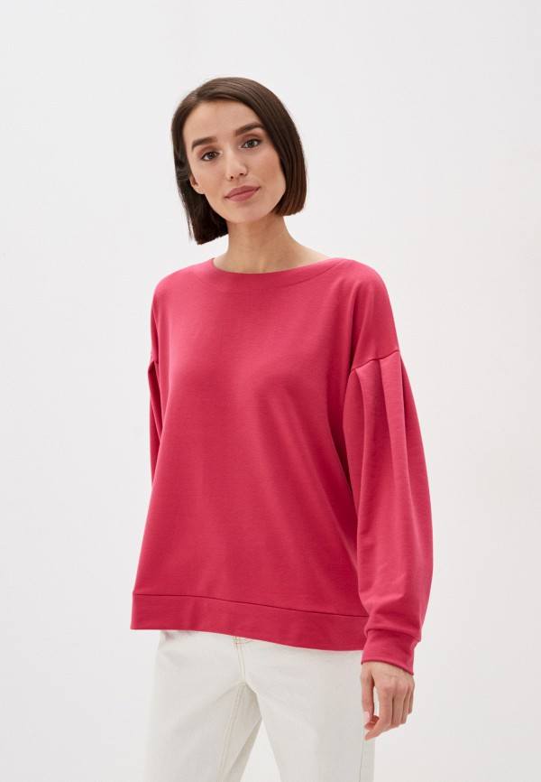 женский свитшот buono, розовый