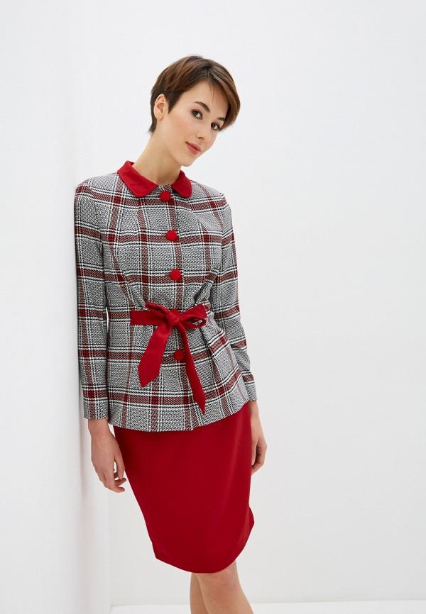 женский костюм avemod, красный