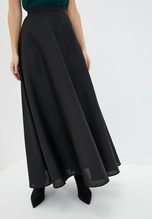 женская юбка подіум, черная