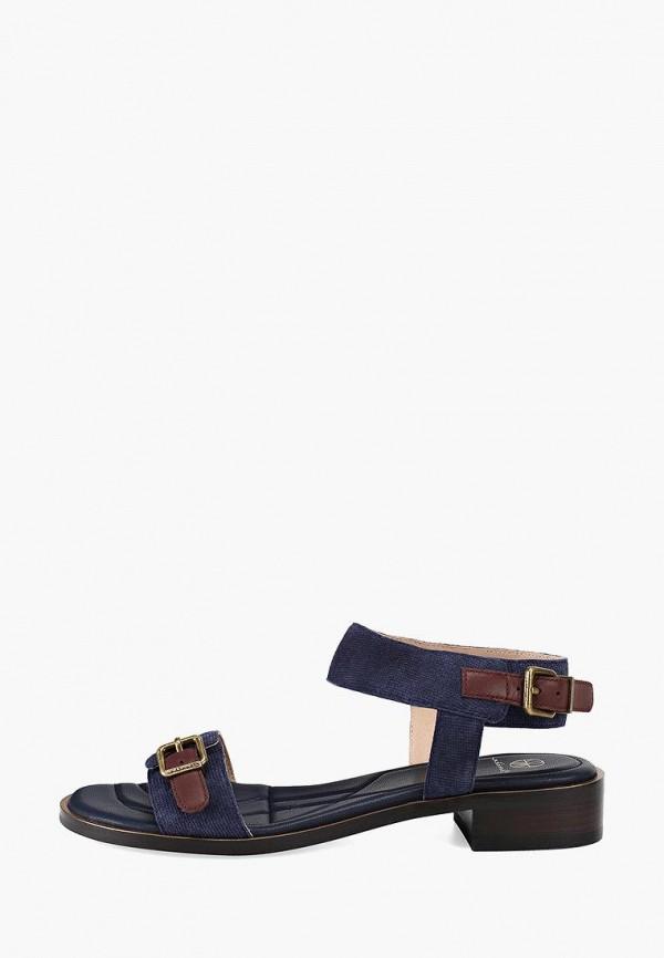женские сандалии эконика, синие