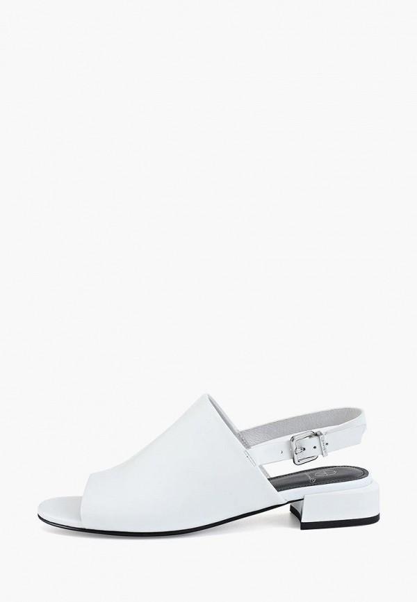 женские сандалии эконика, белые